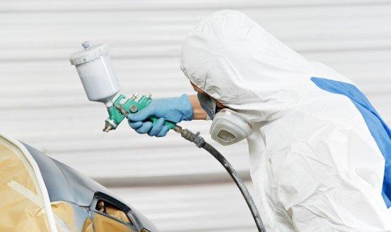 spray paining